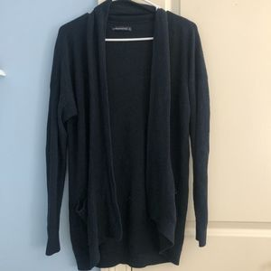 Abercrombie & Fitch Navy Blue cardigan